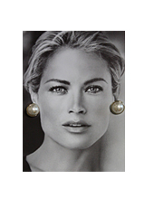 ビッグ真珠のイヤリング<font color=9A9A9A><br>ぜひ購入してください</font>