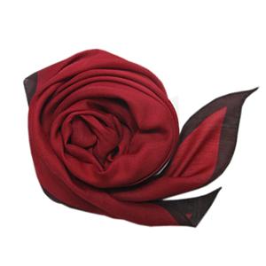 エル配色シルクスカーフ